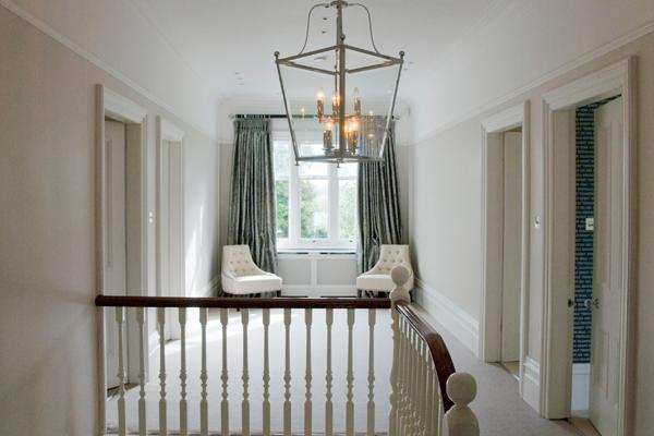 Modern Edwardian Home Lavender grey