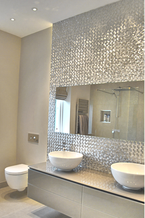 & Ensuite with LED backdrop lighting azcodes.com